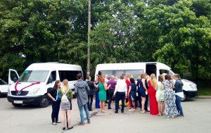 Микроавтобус с водителем на свадьбу