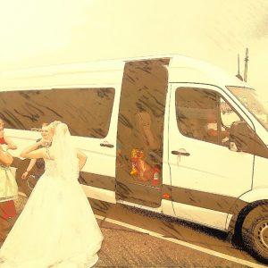 Свадебный микроавтобус недорого Москва